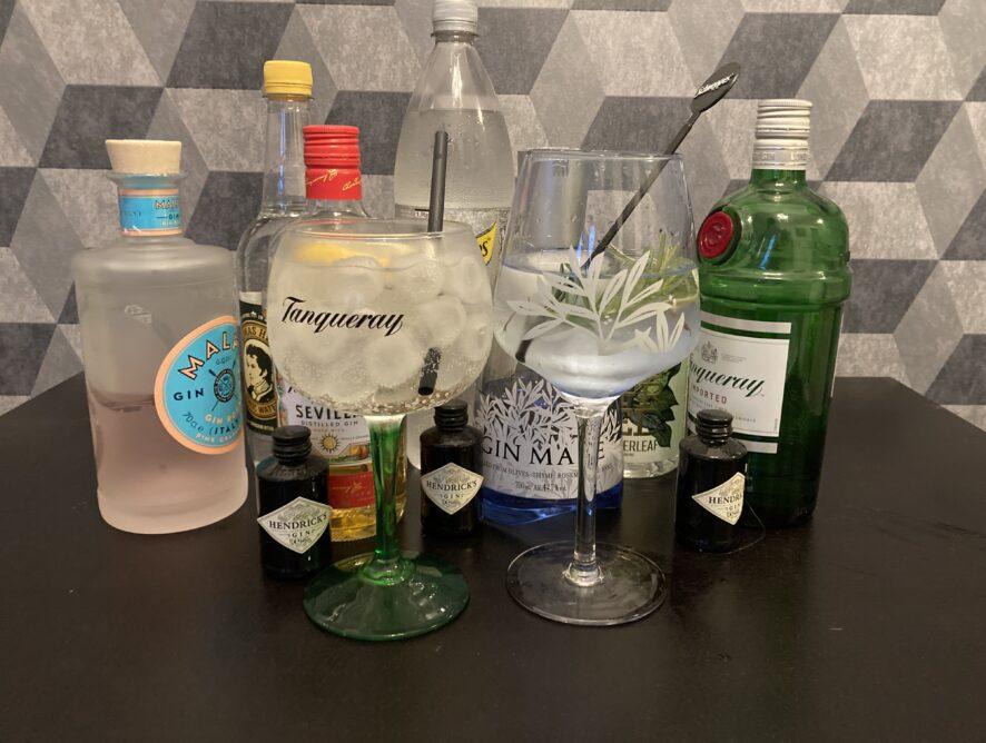 Gin Tasting Kulturzentrum Sinsteden